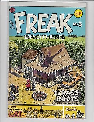 Fabulous Furry Freak Brothers #5 - $1.50 cover - Fine