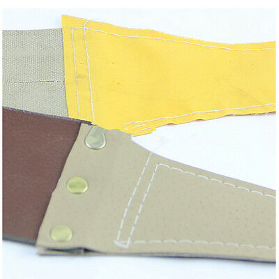 Professional Sharpeners Canvas Strops for Barber Open Straight Razor Sharpening