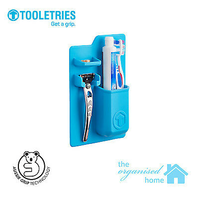 Tooletries Silicone Mighty Toothbrush Holder Organiser