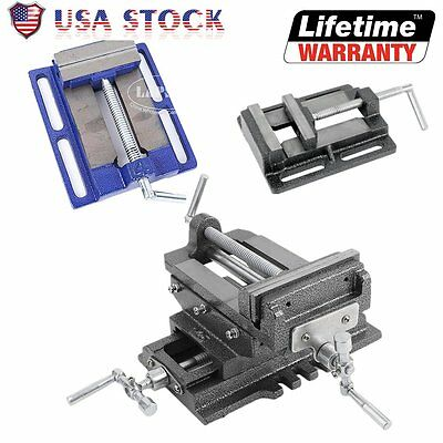 US Cross Slide Vise Wide Drill Press X - Y Clamp Milling 2 Way - 3 4 5 6 inch AL