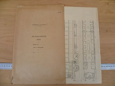 Rare Australian War Railways Committee Ephemera Spec Sheet (G149)