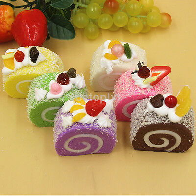 Cute Soft Scented Squishy Cake Super Slow Rising Bread Kids Playing Toys Gift FR