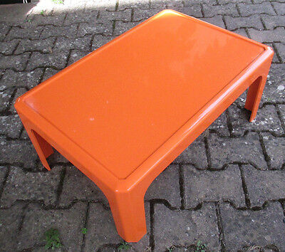 Table Basse Gilac Design Orange - Vintage 70'