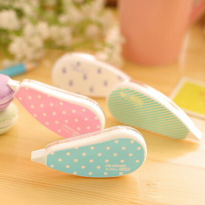 1x ROLL cartoon Correction Tape Correct Traces Student Office Geschenk