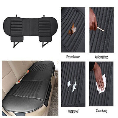138*49cm Car Rear Seat Cover Universal Bamboo Charcoal Cushion Pad for 5seat Car