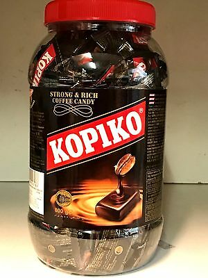 Kopiko Coffee Candy in Jar 800g