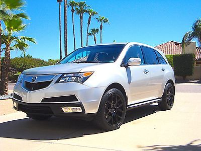 "2012 Acura MDX 3.7L 2012 Acura MDX - Advanced + Tech Packages, New Brakes, New 20"" Wheels and Tires"