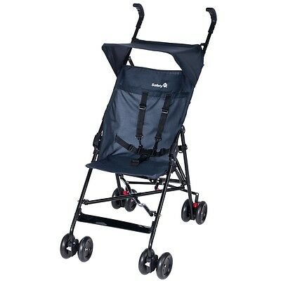 S#Safety 1st Baby Toddler Stroller Pushchair Buggy with Canopy Peps Blue 1182767