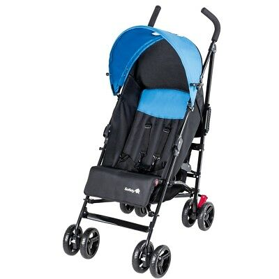 S#Safety 1st Baby Stroller Pushchair Buggy Travel Slim Black and Blue 1132325000