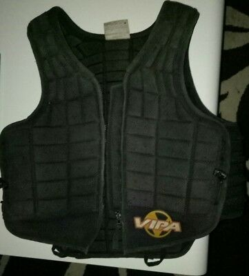 Horse riding safety vest