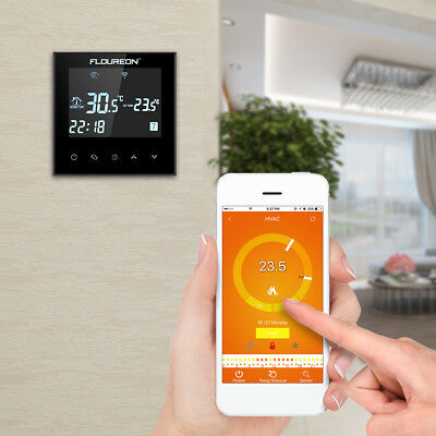 Smart Wi-Fi Programmable Digital Touch Screen Thermostat 4-Wifi Thermostat