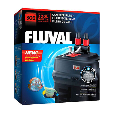 Fluval 306 Canister External Filter for Aquariums