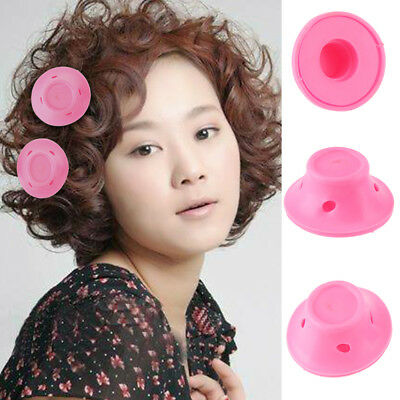 10X Women Roll Hair Maker Curlers Roller Soft Silicone DIY Cosmetic Tools