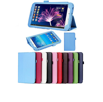 """High Quality Flip Leather Stand Case Cover Samsung Galaxy Tab3 8"""" T310 T311 T315"""