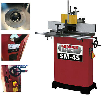 Spindle Moulder 4 Drive Speed Cast Iron 1500W