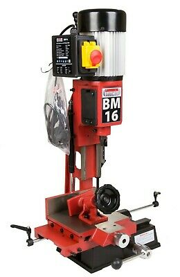 Professional Bench Morticer Machine with Cast Sliding Table & Chisel 370W 240v
