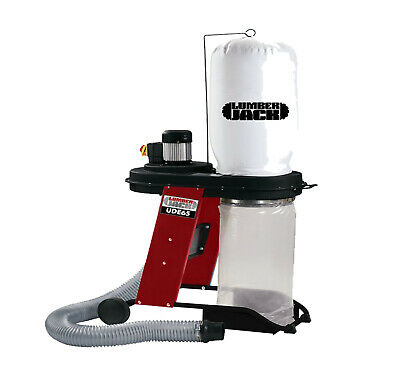 Lumberjack UDE65 65L Chip Dust Extractor H/Duty Dust Collector for Workshop