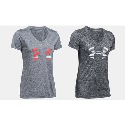 T SHIRT MAGLIA DONNA UNDER ARMOUR TECH GRAPHIC TWIST fitness running training