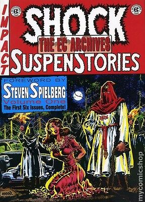 EC Archives: Shock Suspense Stories Volume 1 Hardcover - Mint Condition