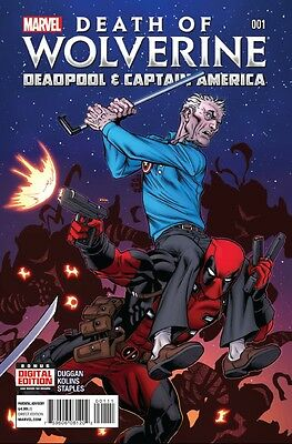 Death of Wolverine Deadpool and Captain America (2014) #   1 (9.0-NM)