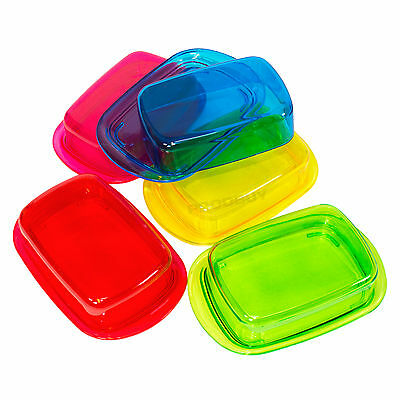 Plastic Butter Storage Dish with Removable Lid Dining Table Serving Dish Holder