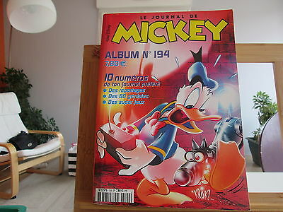 Journal De Mickey Album N°94 En Tbe