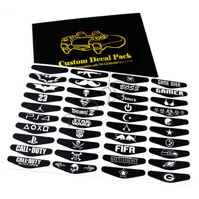 10pcs/lot Sticker For PS4 Playstation 4 Controller LED Decal Lightbar Skin Gift