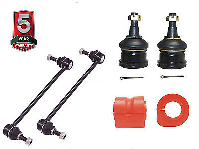 6PC Front Sway Bar Links K7258 + BALL JOINTS + FRONT SWAY BAR BUSHINGS