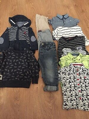 Boys 18-24 Month Winter Boys Bundle Including Next And Disney