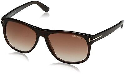69b2f758b3 New Tom Ford Sunglasses Olivier FT TF 0236 50P Dark Brown Frame Brown Lens  58MM