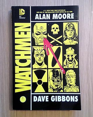 Watchmen Graphic Novel | International Edition | Alan Moore Dave Gibbons