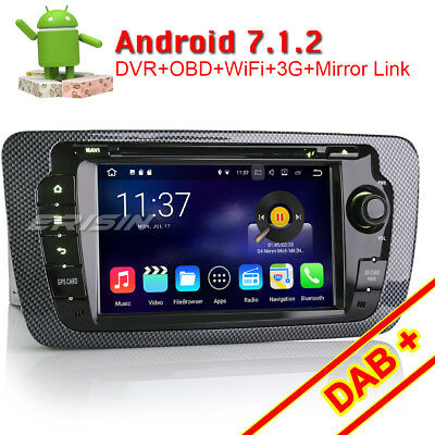 7 android 6 0 autoradio navi doppel din mit cd dab gps. Black Bedroom Furniture Sets. Home Design Ideas