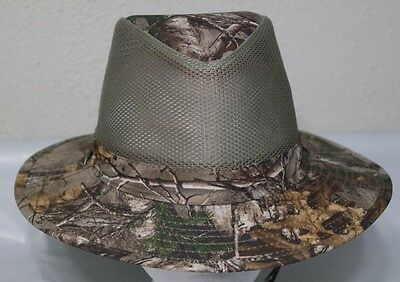 b3f40a029cdd5 STETSON NO FLY Zone Nylon Fishing Hiking Hat   Neck Cover Men s Size ...