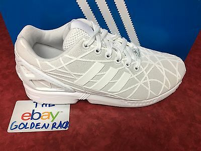 detailed look 37311 6aad3 Clothing, Shoes   Accessories Adidas ZX Flux Lace Up Grey Synthetic Textile  Mens Trainers BB2159 D95 Athletic Shoes