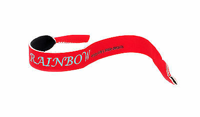 Sunglasses Neoprene Cord Strap / Eyewear Retainer / Floating /rr01 Red