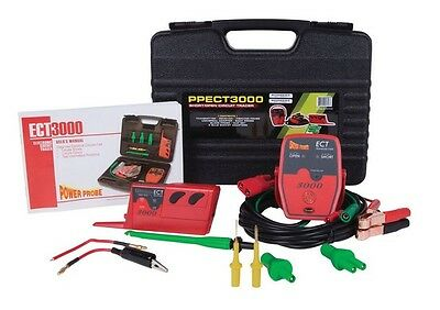 ECT3000 Short/Open Electrical Circuit Tester PWP-PPECT3000 Brand New!