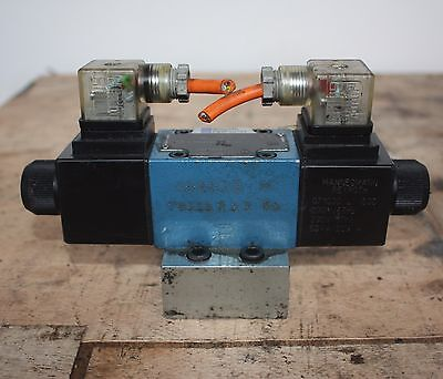REXROTH 4WE 6 M62/EG220N4K4 Solenoid Operated Directional Control Valve