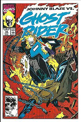 GHOST RIDER Vol.2 # 14 (JUNE 1991), VF/NM