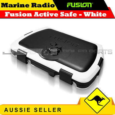 Fusion Active Safe Waterproof Floating Storage and Stereo active Dock - White