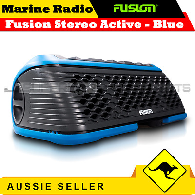 Superior Fusion Stereo Active Portable Stereo with Bluetooth & USB Port - Blue