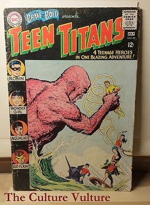 Brave and the Bold #60 - 2nd Appearance of Teen Titans! 1st Wonder Girl