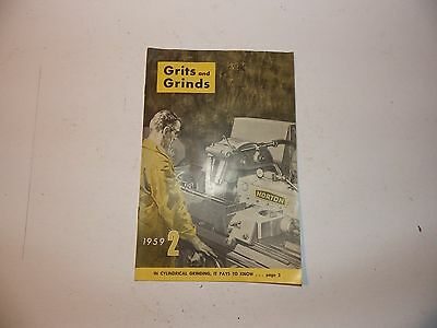 1959 Grits and Grinds from Norton Co. Worcester Ma.