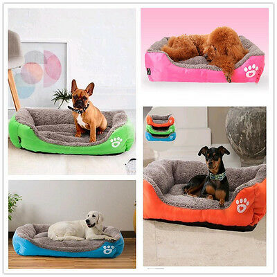 HOT Pet Dog Cat Bed Puppy Cushion House Soft Warm Kennel Mat Pad Washable