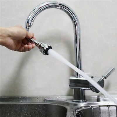 Faucet Connector Extension Hose Water Tap Adaptor Swivel Nozzle Sprayer Q