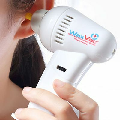 Electric Ear Wax Dirt Remover Earwax Vacuum Cleaner Painless Cordless Safety AU