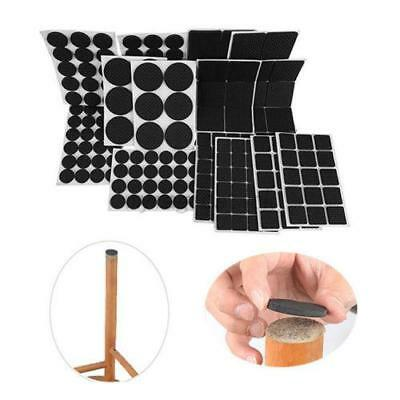 Non Skid Furniture Pads Rubber Self Adhesive Floor Wall Scratch Protectors Set