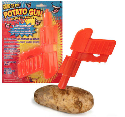 DELUXE POTATO SPUD GUN Shoots Projects Potato Pellets Upto 15 Meters