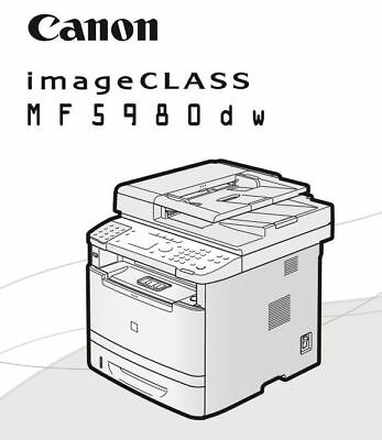 Canon imageCLASS MF5980dw Printer / Scanner / Photocopier / Fax machine