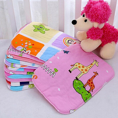 Waterproof Baby Infant Urine Mat Diaper Nappy Kid Bedding Changing Cover Pad *1