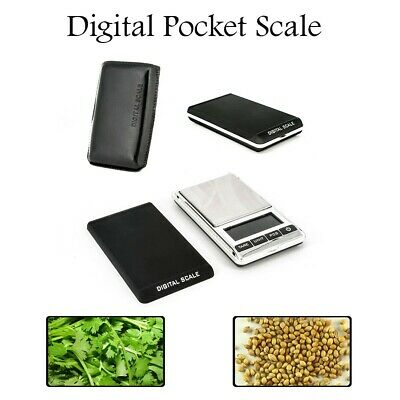 Digital LCD Pocket Weight Scales Multi-Functional + 100g Precision Calibration